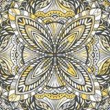 Kort eller inbjudan dekorativ elementtappning stock illustrationer
