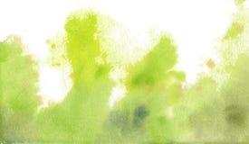 Kort för anmärkning för vattenfärgbakgrundsmall Royaltyfri Foto