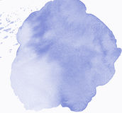 Kort för anmärkning för vattenfärgrammellanrum Arkivfoton