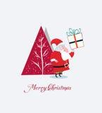Kort för glad jul Royaltyfri Foto