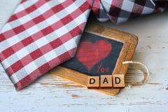 Kort för hälsning för dag för fader` s Arkivbild