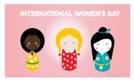 8 kort för mars royaltyfri illustrationer