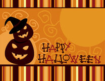 kort halloween stock illustrationer