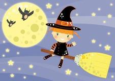 kort halloween Arkivbild