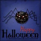 kort halloween royaltyfri illustrationer