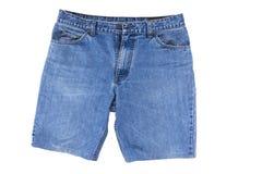 Kort jean flåsar för män Royaltyfri Foto