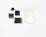 Kort Secure Digital för hög kapacitet SDHC Royaltyfria Foton