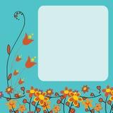kort som greeting Fotografering för Bildbyråer