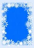 kort som greeting snowflakes royaltyfri illustrationer