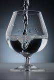 Kort-stemmed sned bollrundaexponeringsglas Royaltyfria Foton