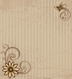 kortblomma Arkivfoto