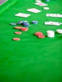 kortchiper stänger sig upp Royaltyfria Foton