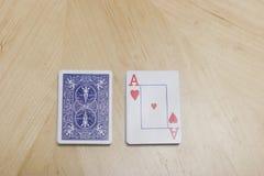 kortdäck royaltyfri bild