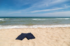 Korte broek op het strand Royalty-vrije Stock Foto's