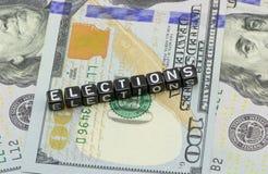 Korte de Verkiezingen van de V.S. Royalty-vrije Stock Fotografie