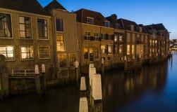 Korte Engelenburgerkade Dordrecht Arkivbild
