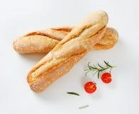 Korte Franse baguettes Stock Afbeelding