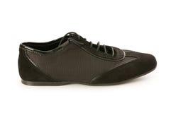 Korte geïsoleerdee schoen Royalty-vrije Stock Afbeeldingen