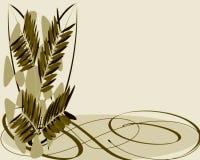 korteaster hälsning royaltyfri illustrationer