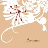 kortet blommar fjädern Fotografering för Bildbyråer