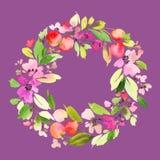kortet blommar hälsning Royaltyfria Foton