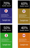 kortförsäljning Arkivbild