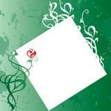kortgreen royaltyfri illustrationer