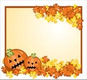 korthälsning halloween Royaltyfria Bilder