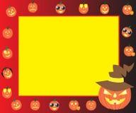 korthälsning halloween Fotografering för Bildbyråer