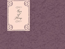korthälsningsbröllop Arkivfoton