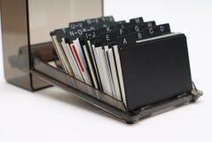 korthållare för affär 2 Arkivfoton
