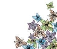 kortillustrationvektor Royaltyfria Bilder