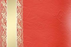 kortinbjudan snör åt royaltyfri illustrationer