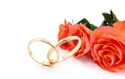 kortinbjudanbröllop Royaltyfria Foton