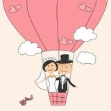 kortinbjudanbröllop Royaltyfri Foto