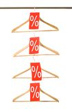 Korting op verkoop stock afbeelding