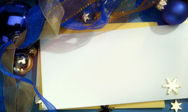 kortjul som greeting Fotografering för Bildbyråer