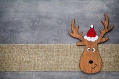 kortjul som greeting Noel gnombakgrund Julsymbol Royaltyfri Fotografi