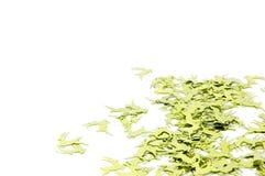 kortjulen fyllde gröna renar Royaltyfri Foto
