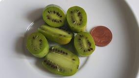 Kortkort-kiwi Royaltyfri Fotografi