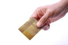 kortkreditering Arkivbild