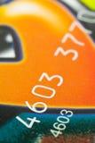 kortkreditering fotografering för bildbyråer