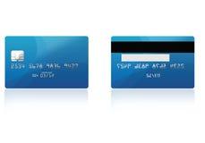 kortkreditering Arkivfoton