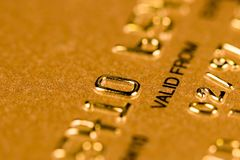 kortkrediteringssäkerhet royaltyfri foto