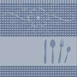 kortmenyrestaurang royaltyfri illustrationer