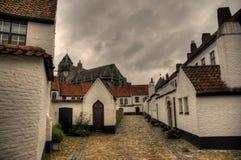 Kortrijk town in belgium Royalty Free Stock Image