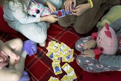 Kortspel som är mig royaltyfria foton