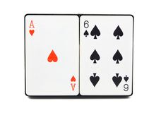 kortspelrum Arkivbild