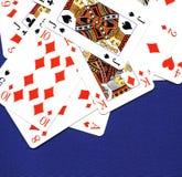 kortspelrum Royaltyfri Bild