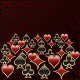kortsymboler Royaltyfri Foto